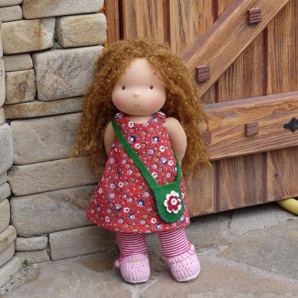 Куклы с нарисованным лицом мк 26